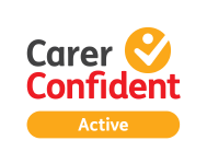 Carer confident logo, the employers for carers confident scheme