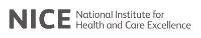 NICE - The National Institute for Health and Care Excellence logo