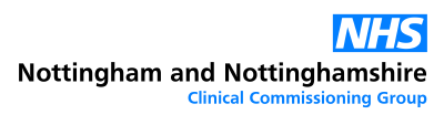 NHS Nottingham & Nottinghamshire Clinical Commissioning Group (formerly NHS Nottingham City Clinical Commissioning Group) logo