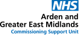 Arden and GEM Commissioning Support Unit logo
