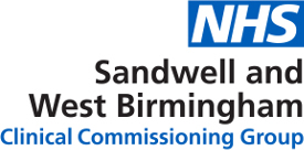 Sandwell & West Birmingham Clinical Commissioning Group logo