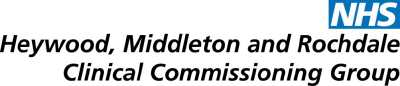 Heywood, Middleton and Rochdale Clinical Commissioning Group logo