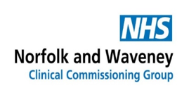 NHS Great Yarmouth and Waveney Clinical Commissioning Group logo